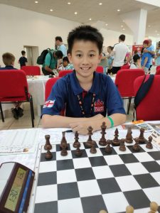 Toby ECF chess